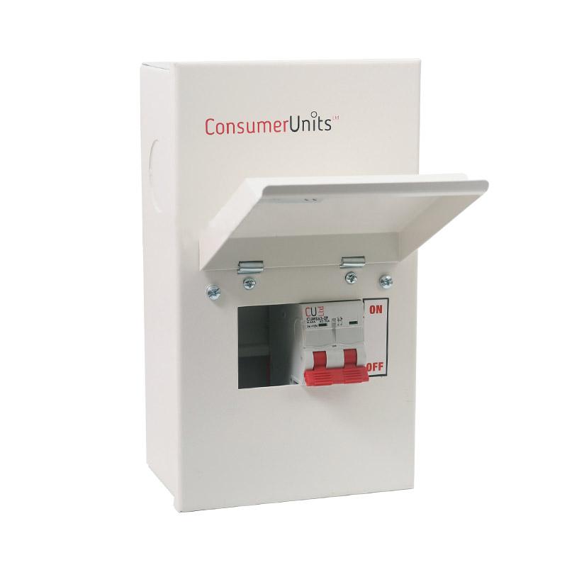 CUL2M - 2 way consumer unit